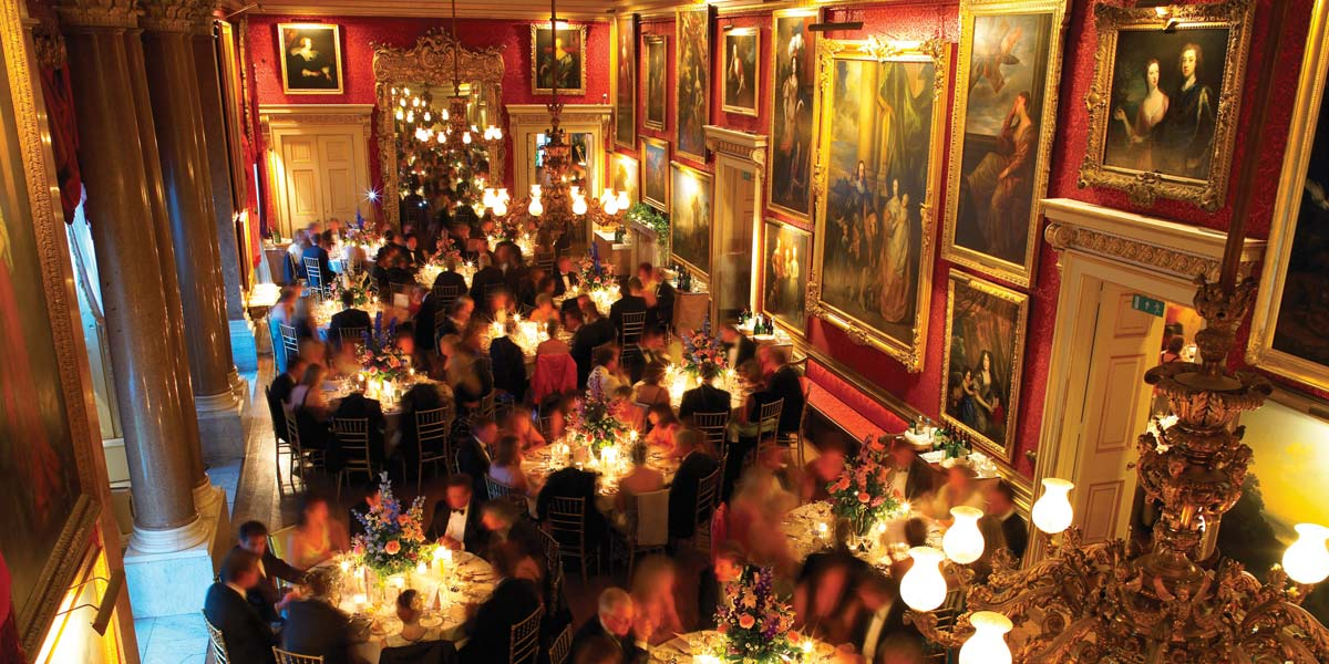 Gala Dinner Venue, Ballroom, Goodwood House, Prestigious Venues