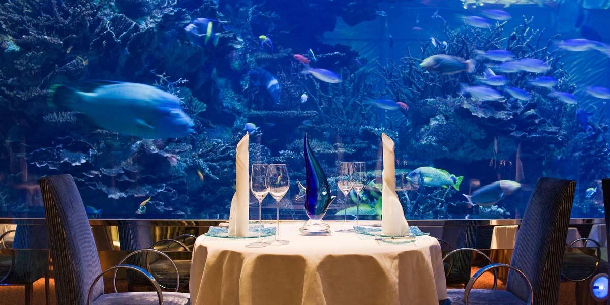 Al Mahara, Burj Al Arab Dubai, Prestigious Venues
