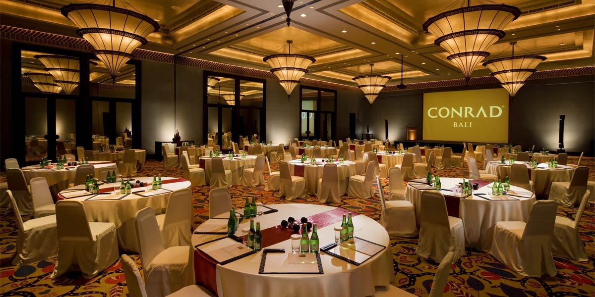 Ballroom Wedding Venue, Conrad Bali, Prestigious Venues