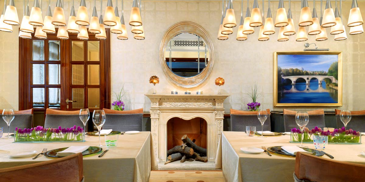 Best Private Dining Rooms In Italy, St Regis Rome, Prestigious Venues