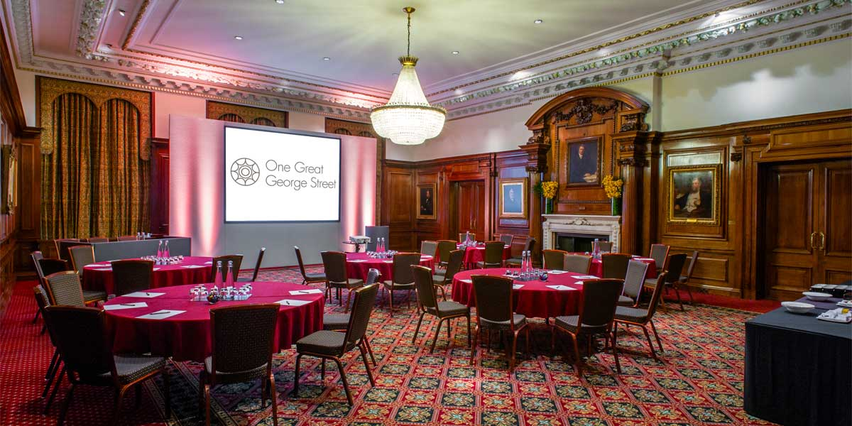 Brunel Room Meeting Venue, One Great George Street, Prestigious Venues