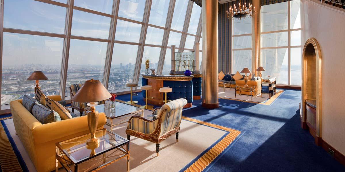 Club Suite, Burj Al Arab Dubai, Prestigious Venues