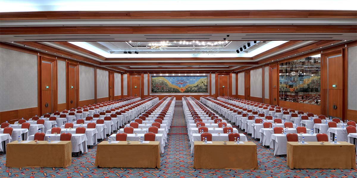 Conference Centre In Turkey, Conference Venues, Gloria Golf Resort, Prestigious Venues