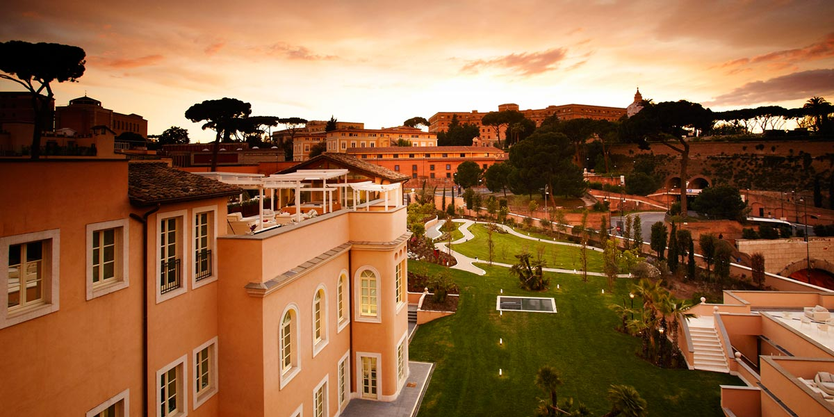 Corporate Event Venue, Gran Melia Rome Villa Agrippina, Prestigious Venues