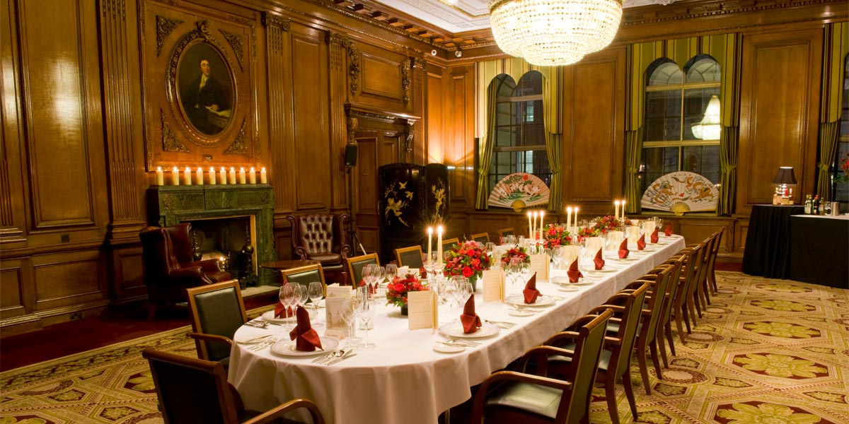 Dinner In The Council Room, One Great George Street, Prestigious Venues