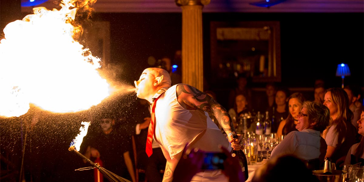 Event Entertainment, Cafe De Paris, Prestigious Venues