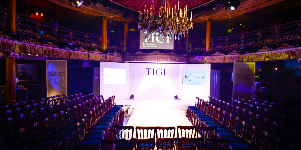 Fashion Show Venues, Fashion Show Venue In London, Cafe De Paris, Prestigious Venues