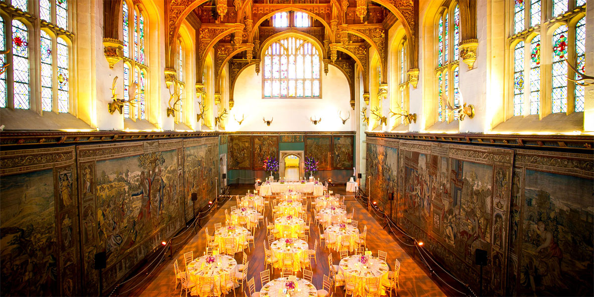 Gala Dinner Venues, Gala Dinner At The Hampton Court Palace, Prestigious Venues