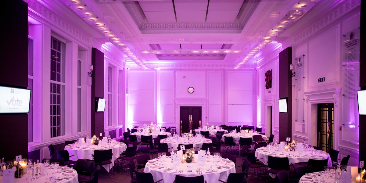 Gala Dinner Venue, 20 Cavendish Square, Prestigious Venues