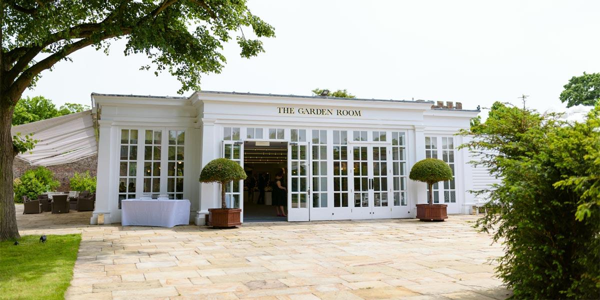 Garden Terrace For Events, Hampton Court Palace, Prestigious Venues