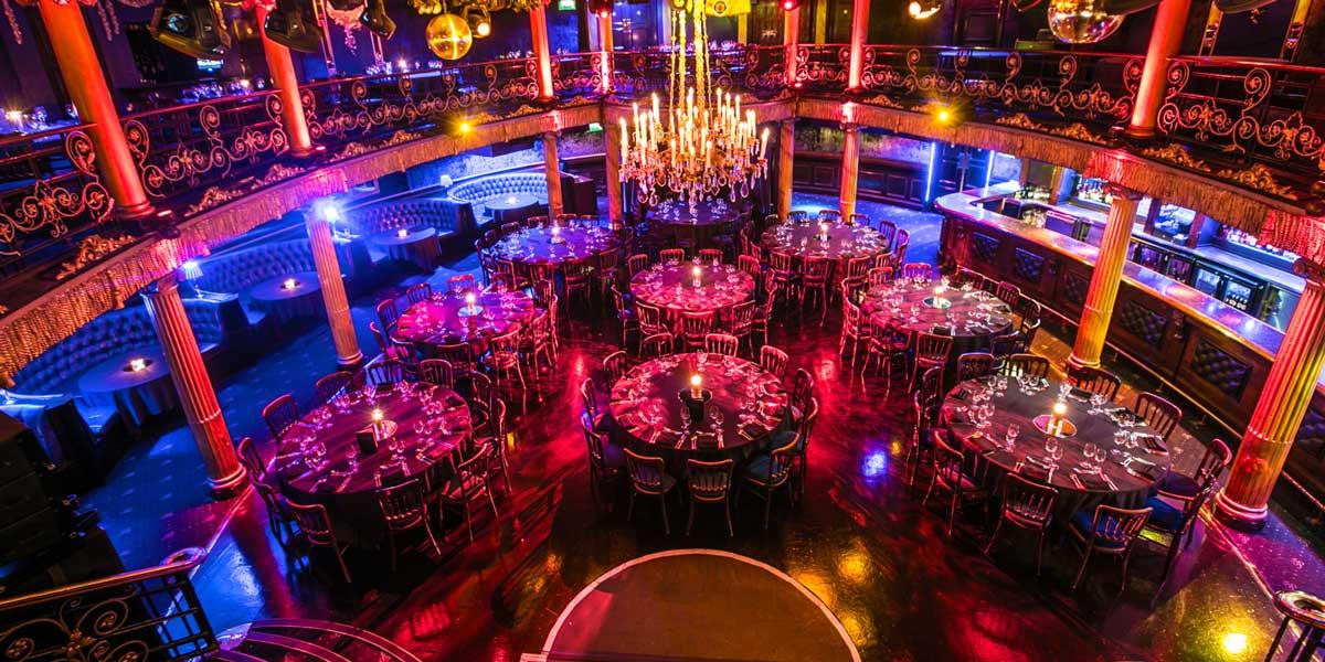 Glamorous Ballroom Space, Cafe de Paris, Prestigious Venues