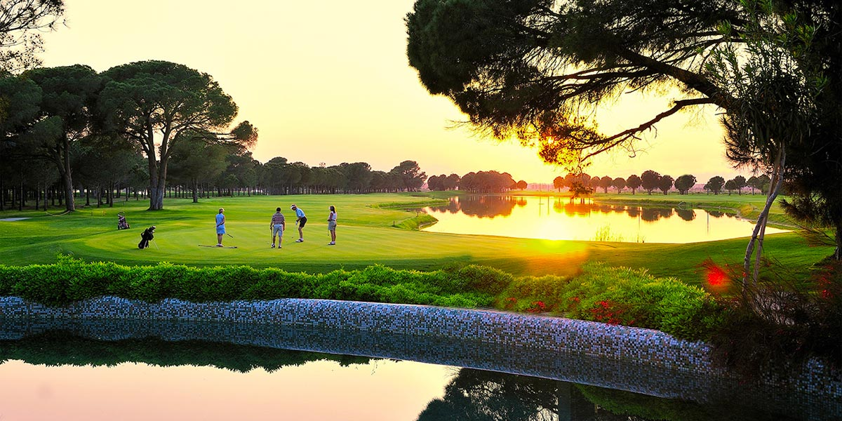 Golf Course, Gloria Golf Resort, Prestigious Venues