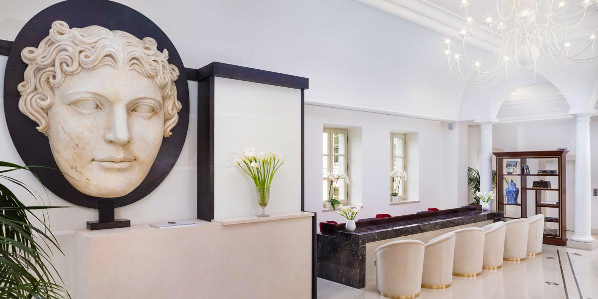 Lobby Entrance, Gran Melia Rome Villa Agrippina, Prestigious Venues