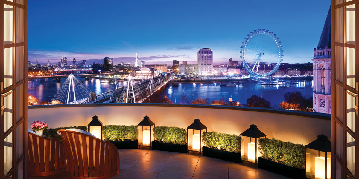 London View, Corinthia Hotel London, Prestigious Venues