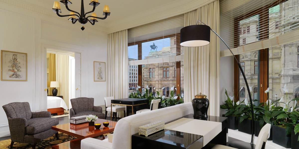 Luxury Bristol Suite, Hotel Bristol Vienna, Prestigious Venues