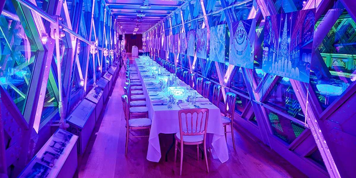 Luxury Dinner Space, Tower Bridge, Prestigious Venues