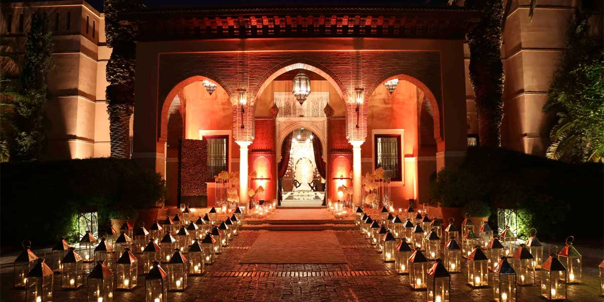 Luxury Venue In Marrakech, Royal Mansour, Prestigious Venues