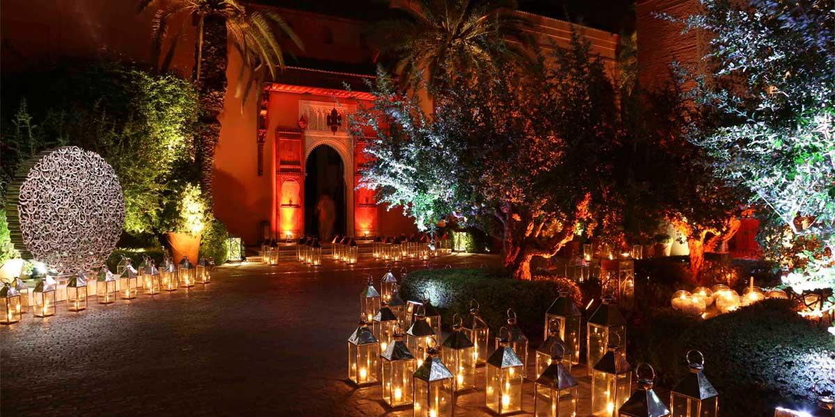 Moroccan Venue, Royal Mansour, Prestigious Venues