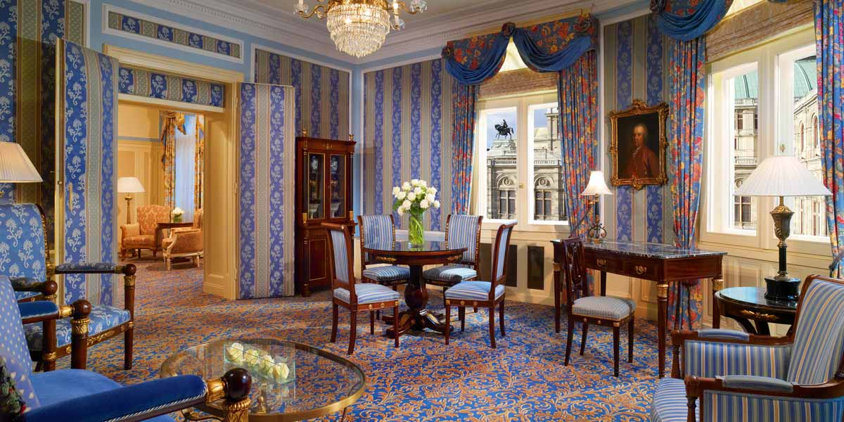 Opera Suite, Hotel Bristol Vienna, Prestigious Venues