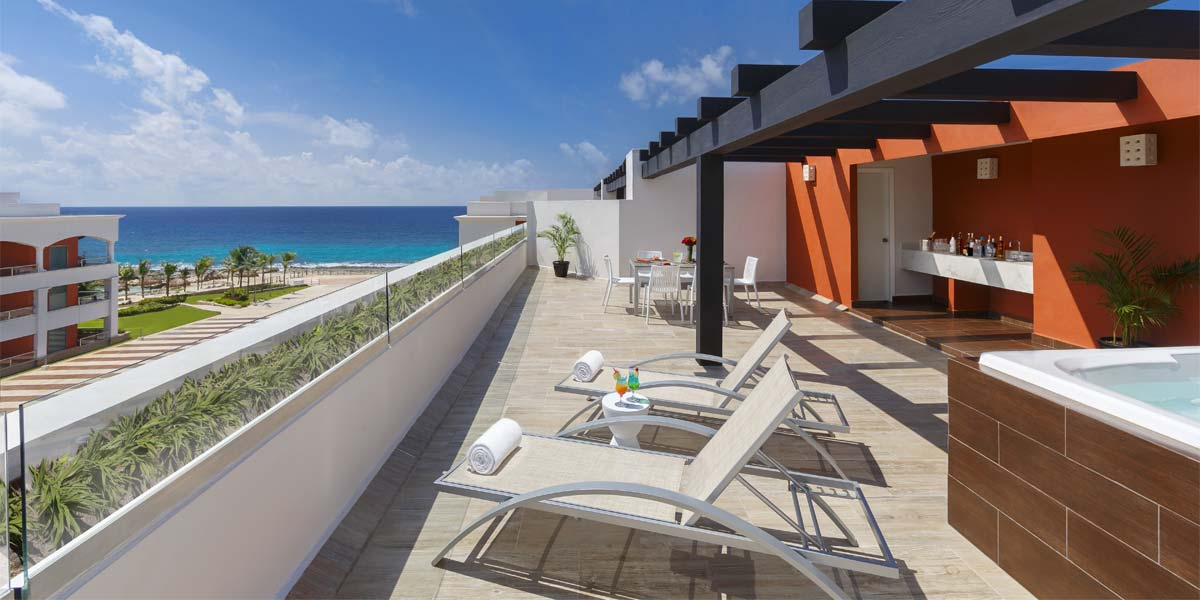 Penthouse For Parties, Hard Rock Hotel Riviera Maya, Prestigious Venues