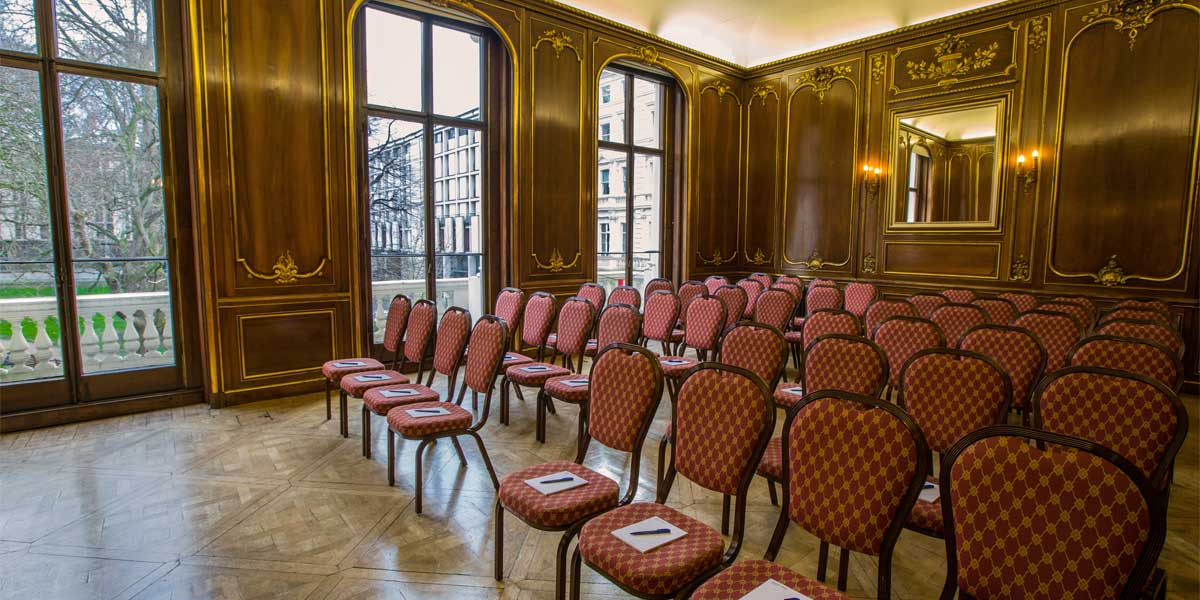 Press Conference Venues. Press Conference Venue in Kensington, 58 Prince's Gate, Prestigious Venues