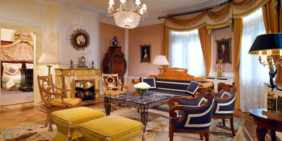 Prince Of Wales Suite, Hotel Bristol Vienna, Prestigious Venues