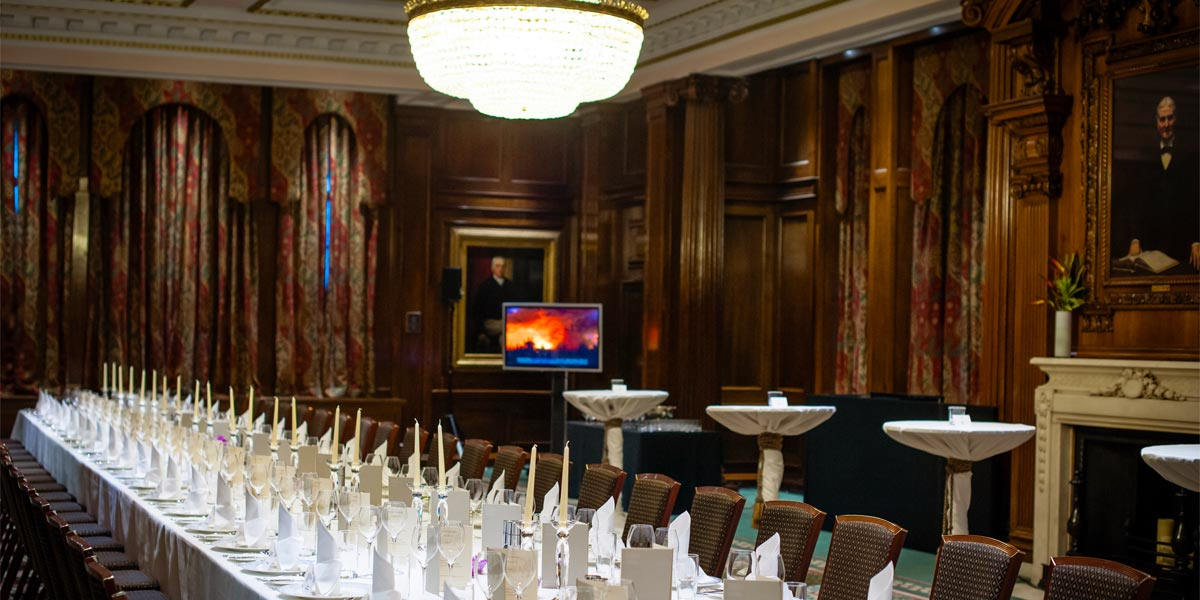 Private Dining In London, One Great George Street, Prestigious Venues