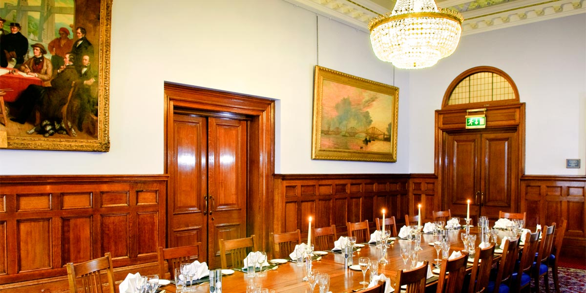Private Dining In Stephenson Room, One Great George Street, Prestigious Venues