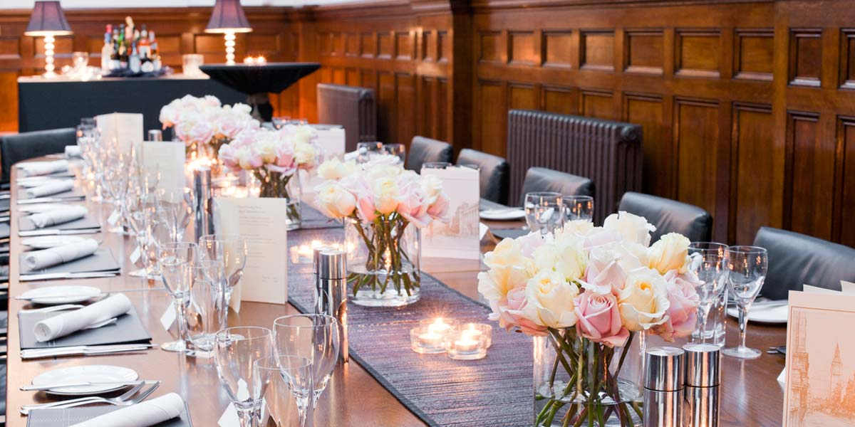 Private Dining, One Great George Street, Prestigious Venues
