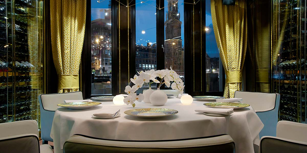 Private Dining Venue in Amsterdam, De L'Europe, Prestigious Venues