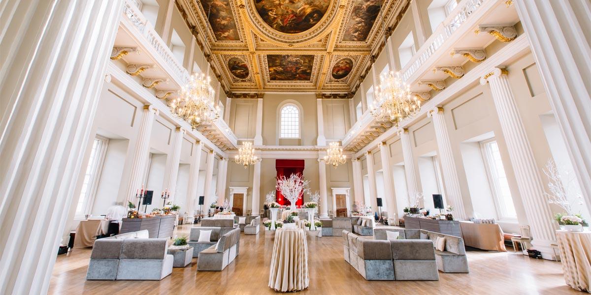 Reception Venues, Banqueting House, Prestigious Venues