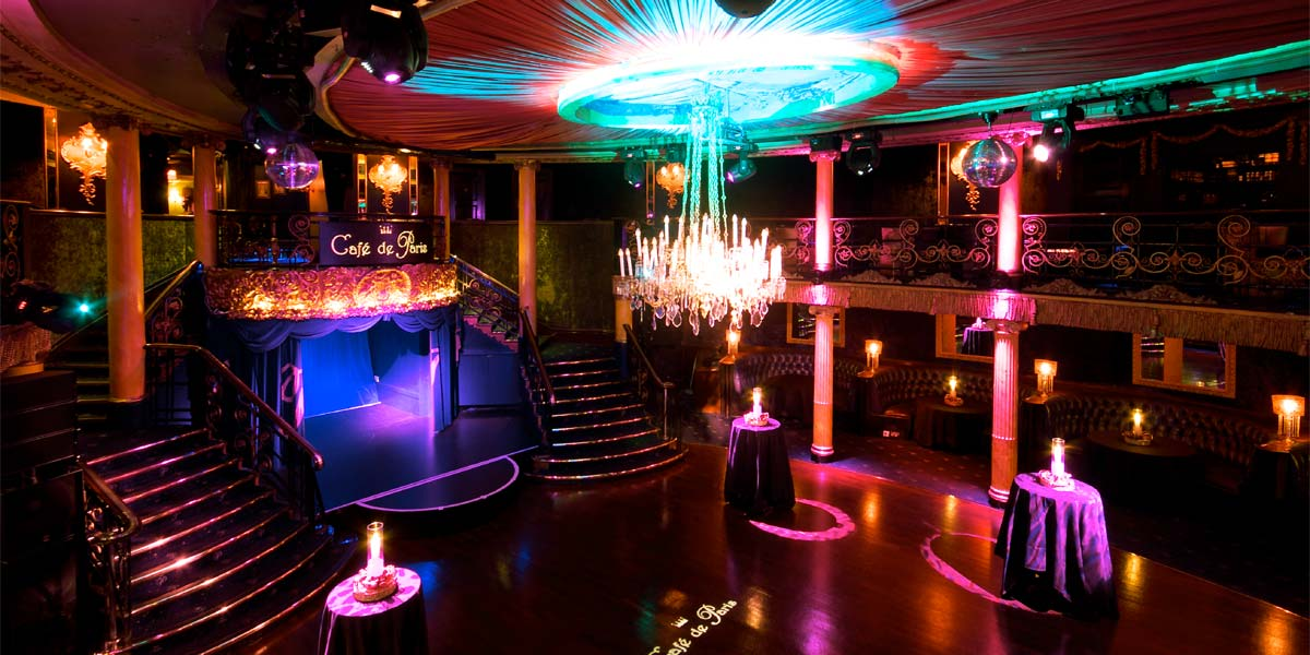 Reception Venues, Reception Venue In London, Cafe De Paris, Prestigious Venues