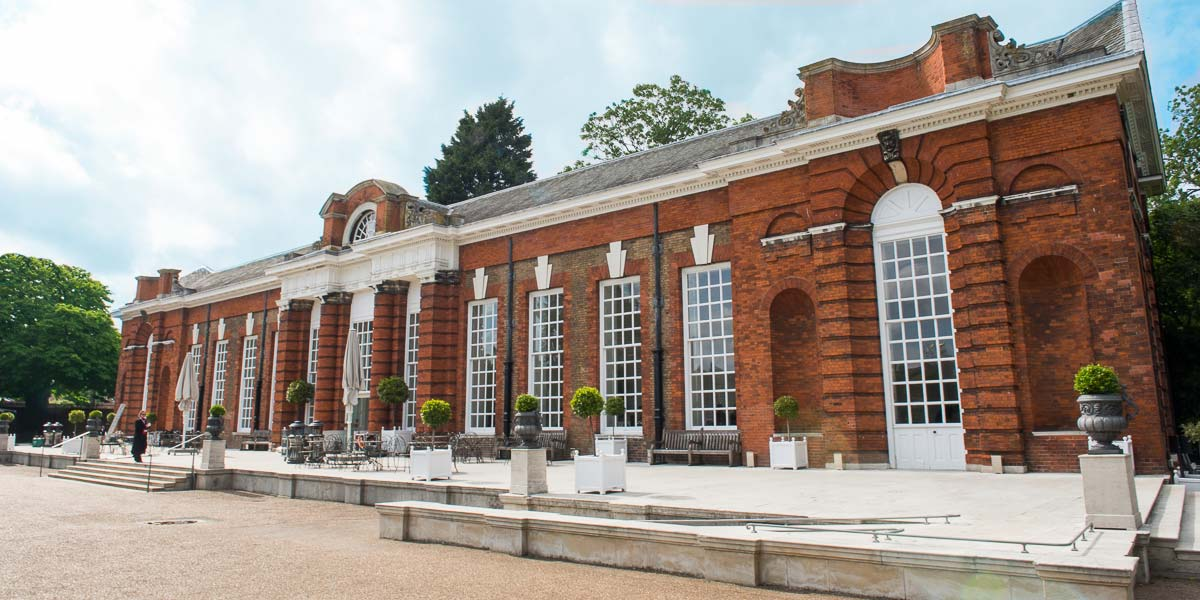 Reception in The Orangery, Kensington Palace, Prestigious Venues