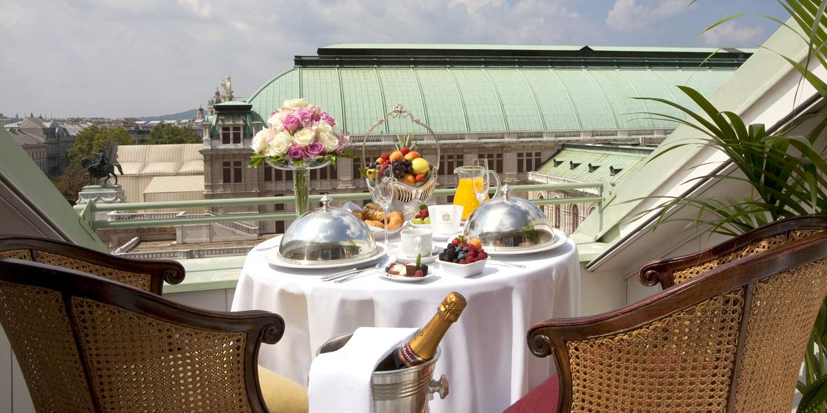 Roof Terrace Venue, Hotel Bristol Vienna, Prestigious Venues