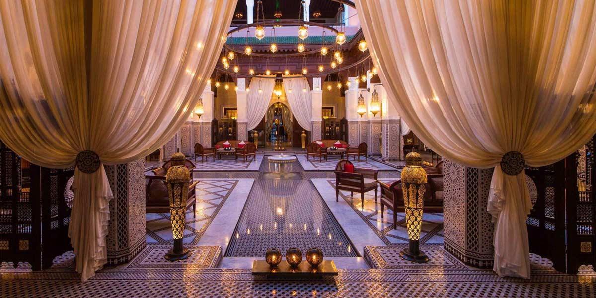 Stylish Moroccan Venue, Royal Mansour Marrakech, Prestigious Venues