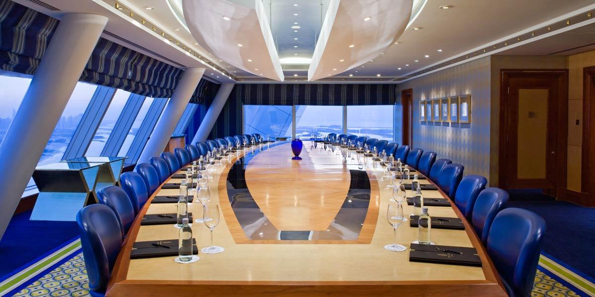 Suha Room, Burj Al Arab, Dubai, Prestigious Venues