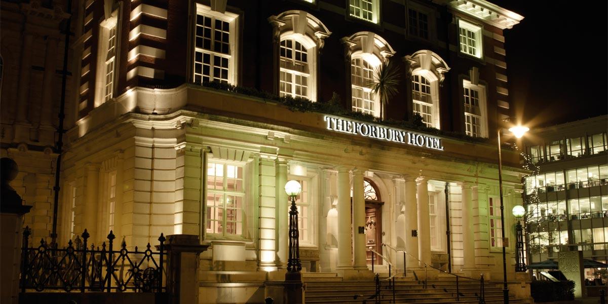 The Forbury Hotel At Night, Prestigious Venues