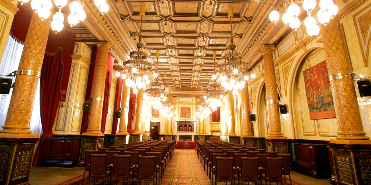 Conference Venues, The Whitehall Suite, Conference Set Up, One Whitehall Place, Prestigious Venues