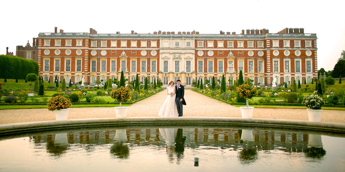 Wedding Venues, Wedding In A Palace, Hampton Court Palace, Prestigious Venues