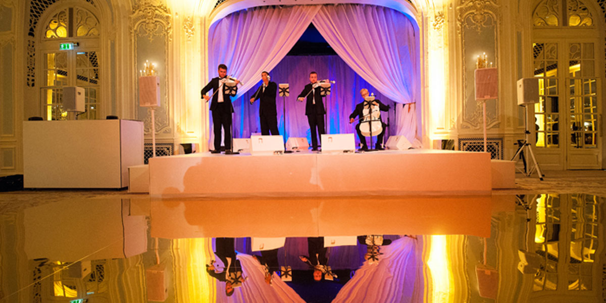 Background Music For Events, Urban Soul Orchestra, Prestigious Venues