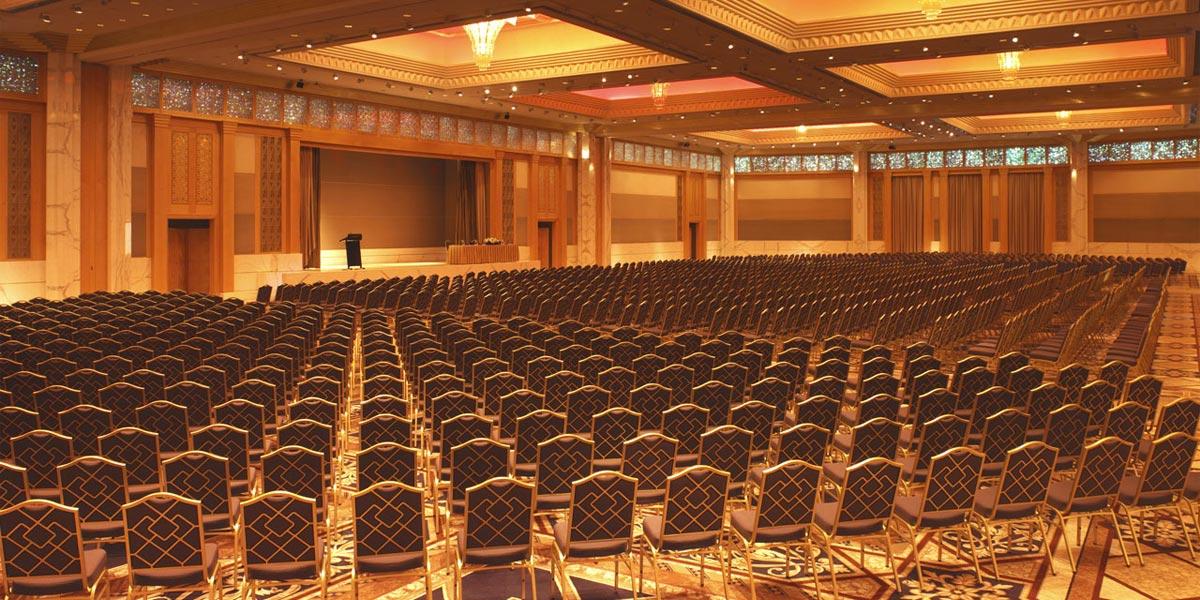 Baniyas Ballroom, Grand Hyatt Dubai, Prestigious Venues