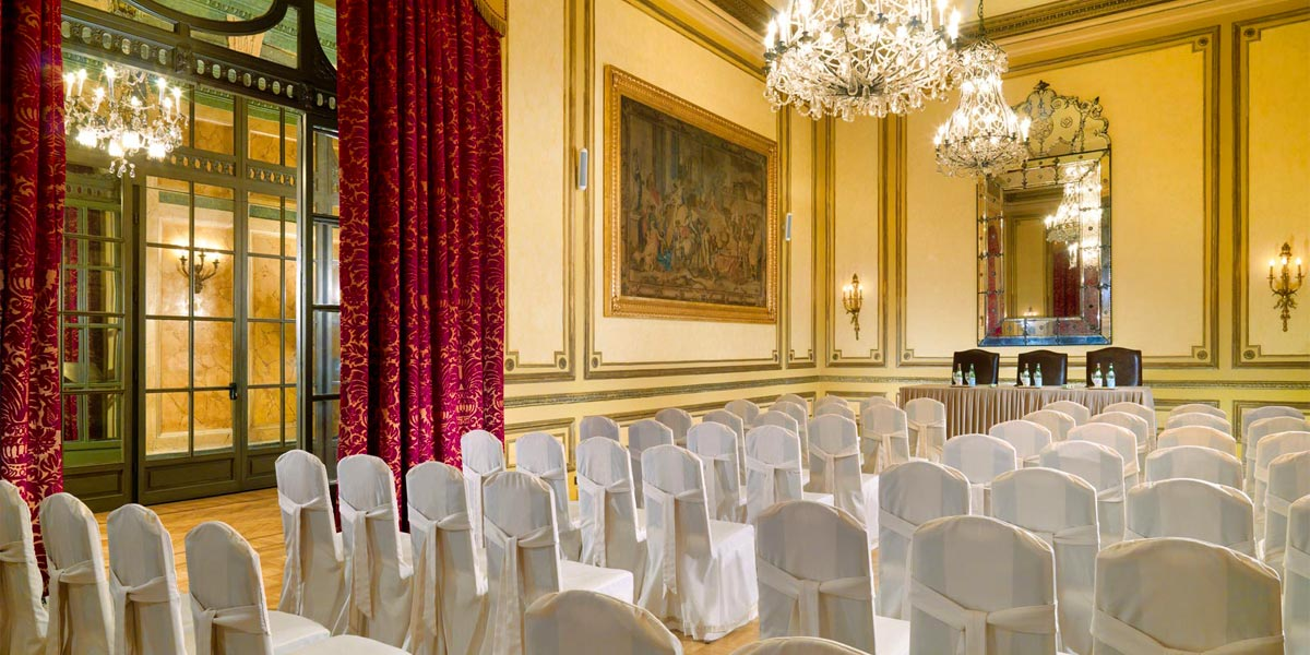 Borromeo Room, St Regis Rome, Prestigious Venues