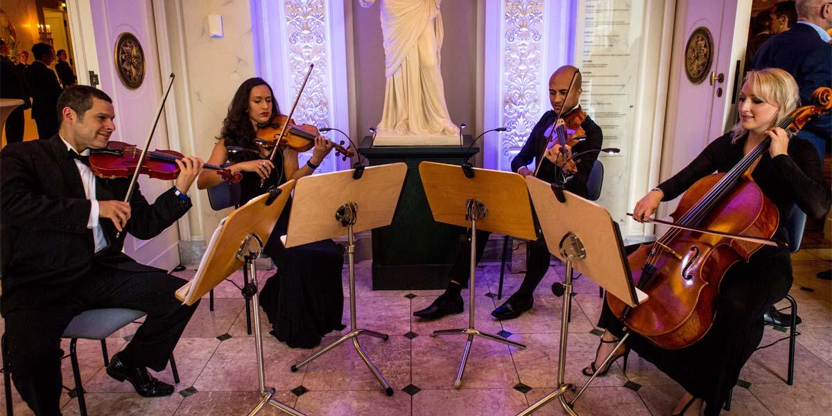 Classical Quartet Music, Urban Soul Orchestra, Prestigious Venues