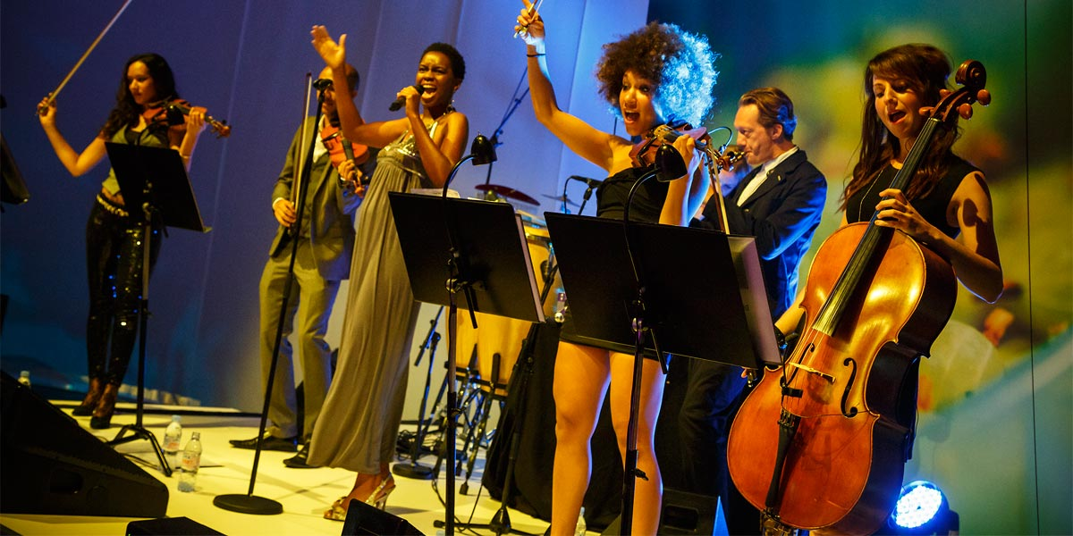 Entertainment For Christmas Parties, Urban Soul Orchestra, Prestigious Venues