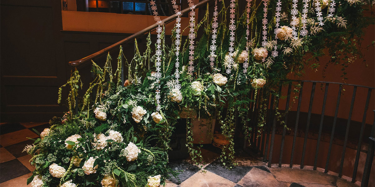 Flower Decorations For Events, Wildabout Flowers, Prestigious Venues