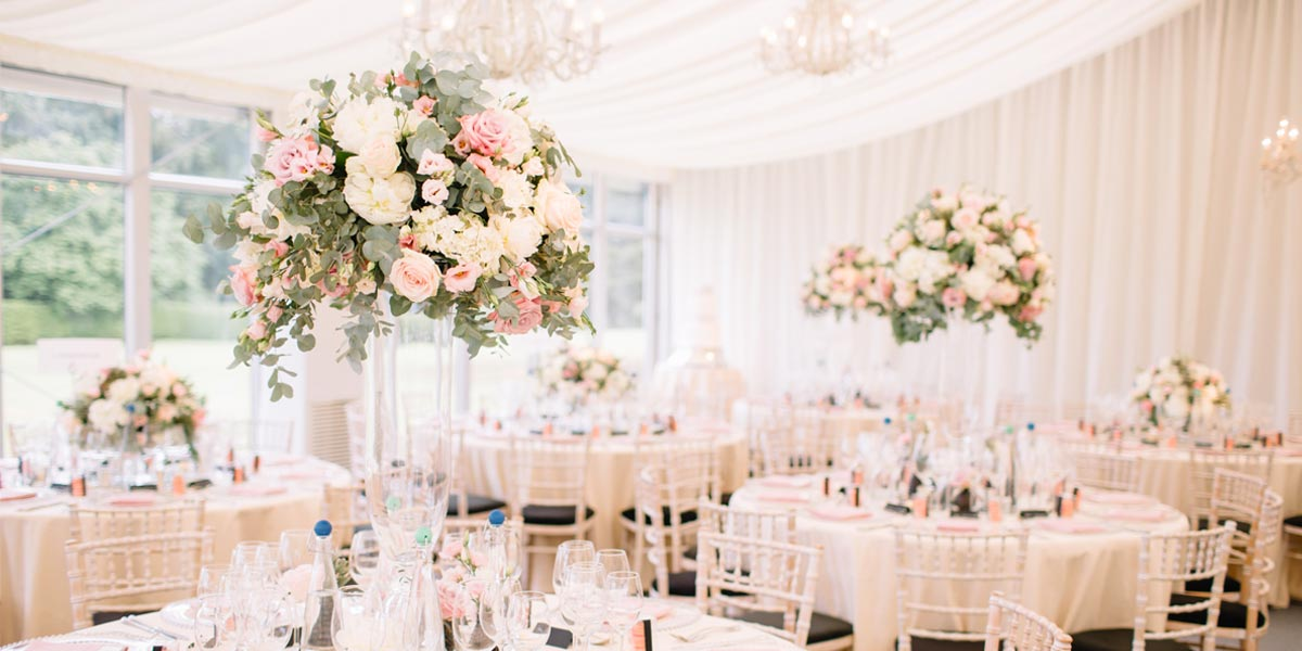 Wedding Venues, Flower Supplier For Weddings, Wildabout Flowers, Prestigious Venues