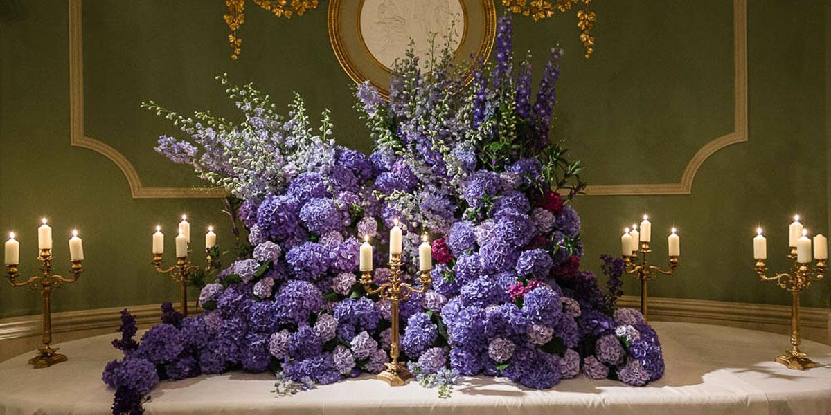 Flower Table Decorations, Wildabout Flowers, Prestigious Venues