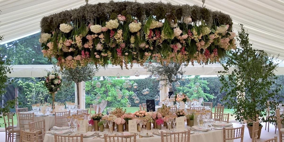 Flowers For Weddings, Wildabout Flowers, Prestigious Venues