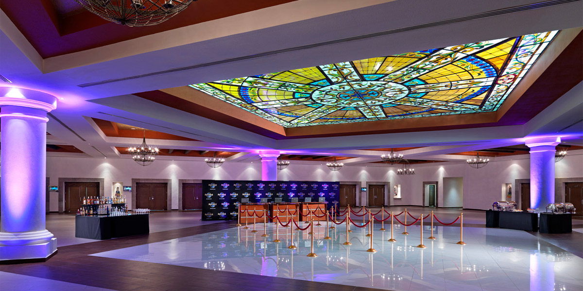 Foyer Convention Center, Hard Rock Hotel Riviera Maya, Prestigious Venues