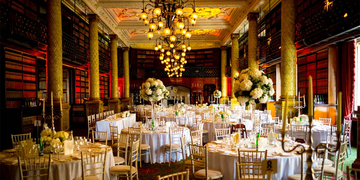 Gala Dinner Venues, Gladstone Library, One Whitehall Place, Prestigious Venues